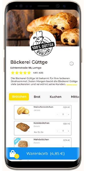 baeckerei app